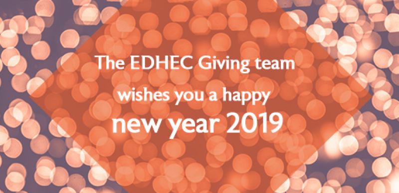We wish you a happy new year 2019